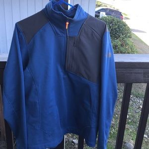 Half zip jacket/top medium men's North Face